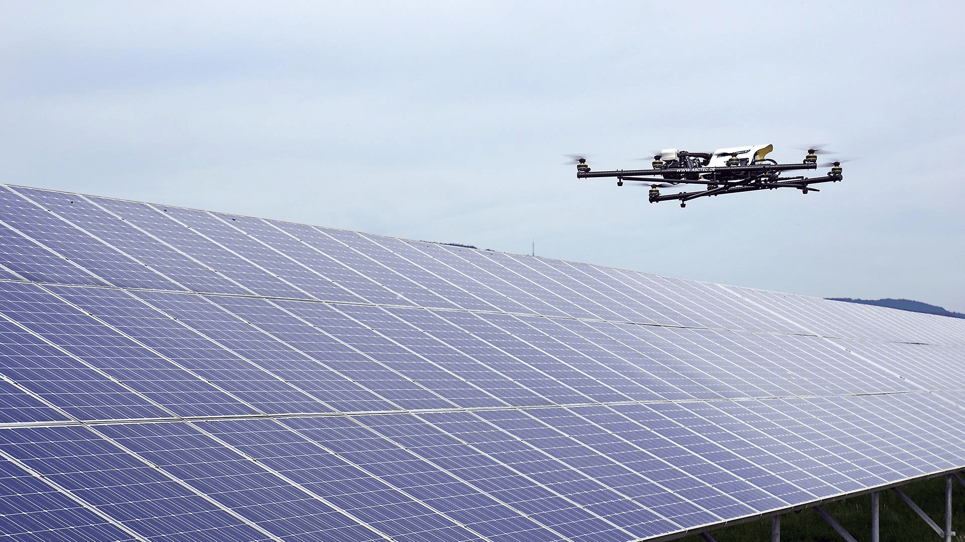 drone automation solar inspection