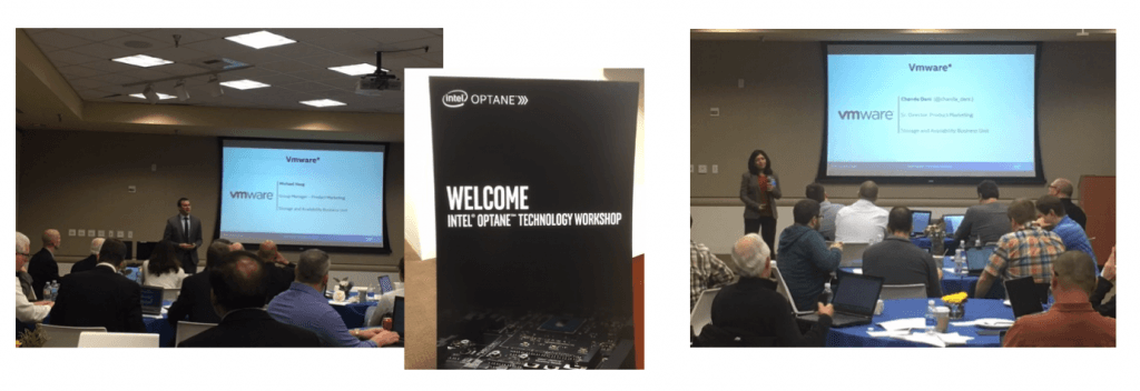 Intel Optane Workshop event