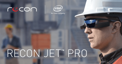Augmented reality - Intel Recon Jet Pro eyewear