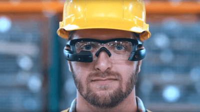 Augmented reality Intel Recon Jet Pro eyewear