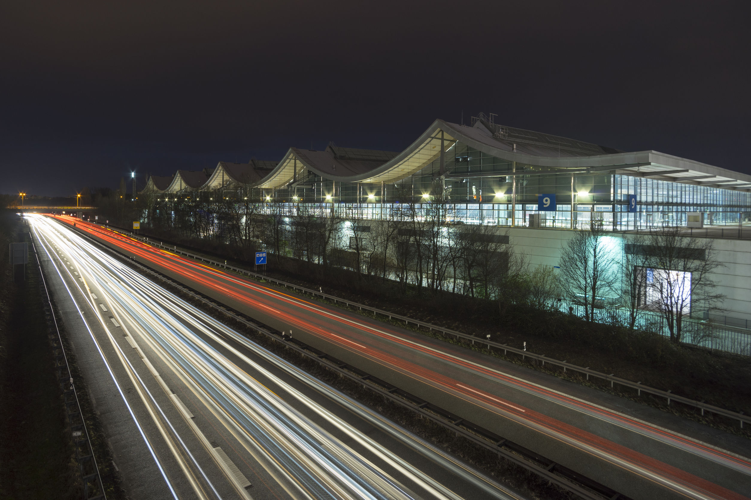 Hannover Messe fairground, the largest exhibition ground in the world.