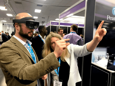 HoloLens demonstration to help train nurses