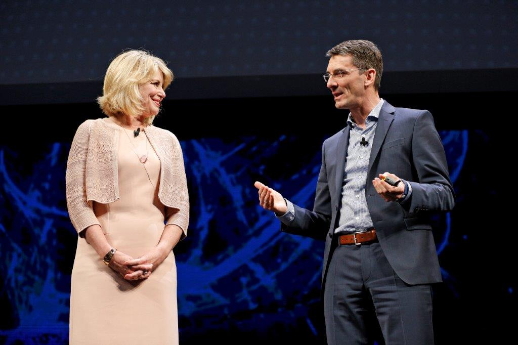 Diane Bryant on stage at SAPPHIRE 2017