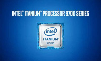 Intel Itanium Processor 9700 Series chip