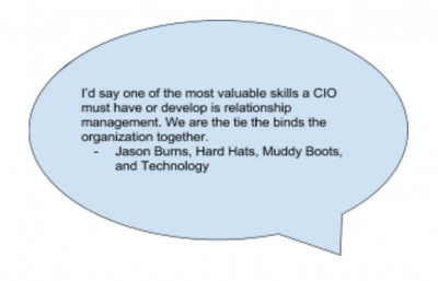 The Path to CIO
