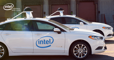 Intel self-driving autonomous vehicles
