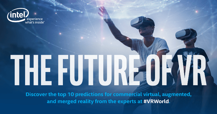 Discover the top ten predictions for commercial VR, AR, and MR from the experts at VR World