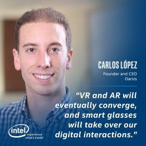 Carlos Lopez, Founder and CEO Oarsis