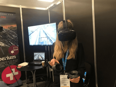 Click & Links demonstration at VR World