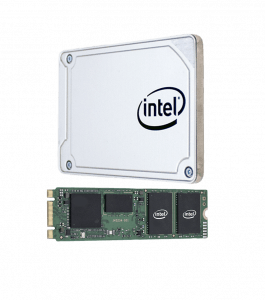 Image of an Intel® SSD used with secure erase