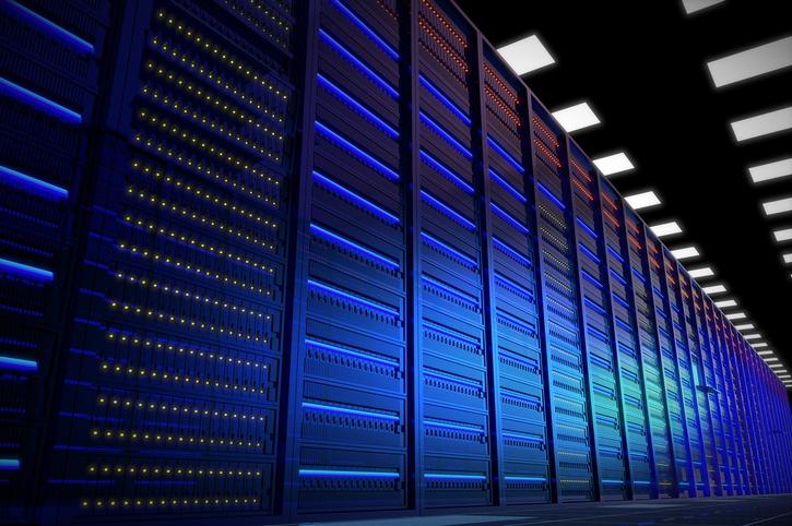 data center utilizing Intel Xeon Phi Processors