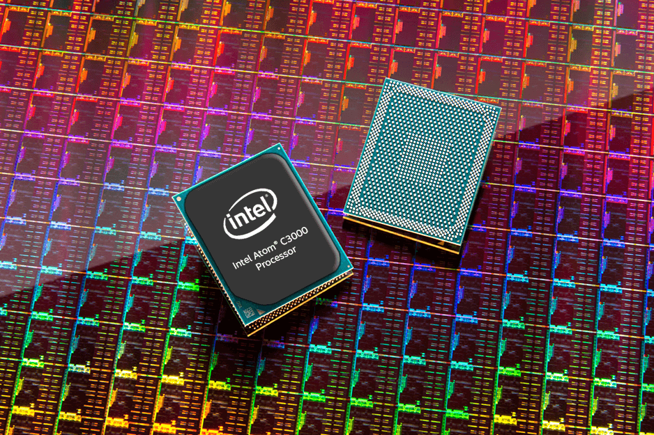 Intel Atom C3000 Processor used in low-power networking, storage and security