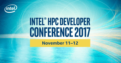 Intel HPC Developer Conference