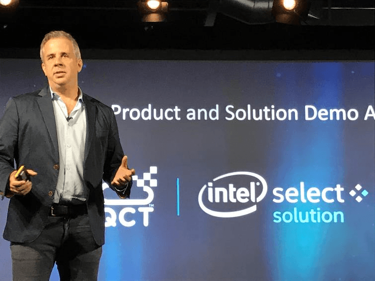 Jason Waxman speaking on Intel Select Solutions