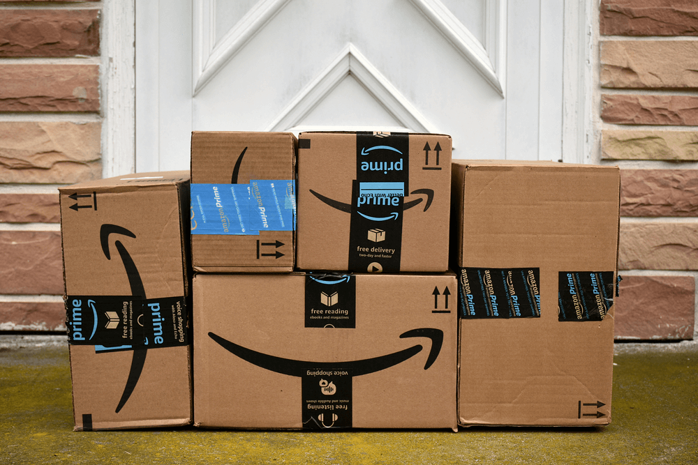 FMCG via Amazon online retail purchases