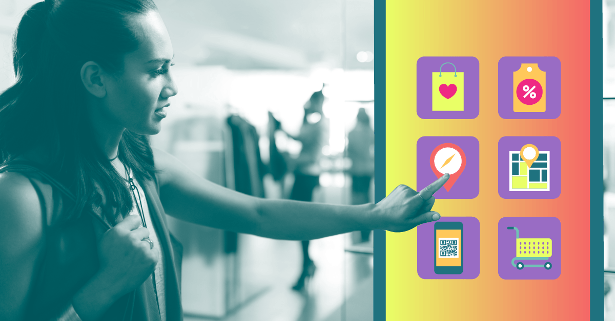 Use digital signage effectively in retail to improve the customer experience.