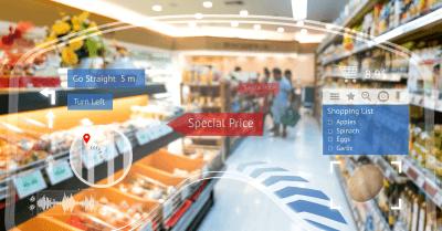 autonomous smart convenience store concept