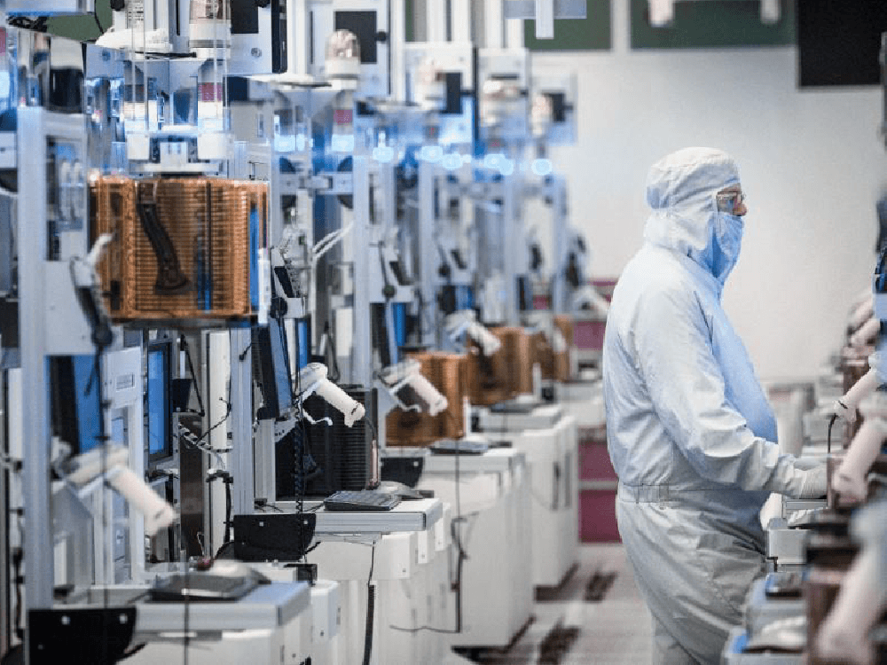 Intel's smart factory automation has shown consistent year-over-year improvements in efficiency, output, and yield.