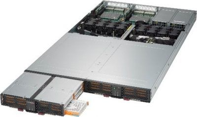 Supermicro RSD Pooled NVMe storage units with 32 SSDs