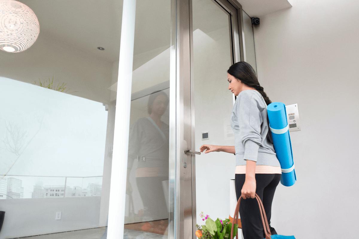 smart home camera outside