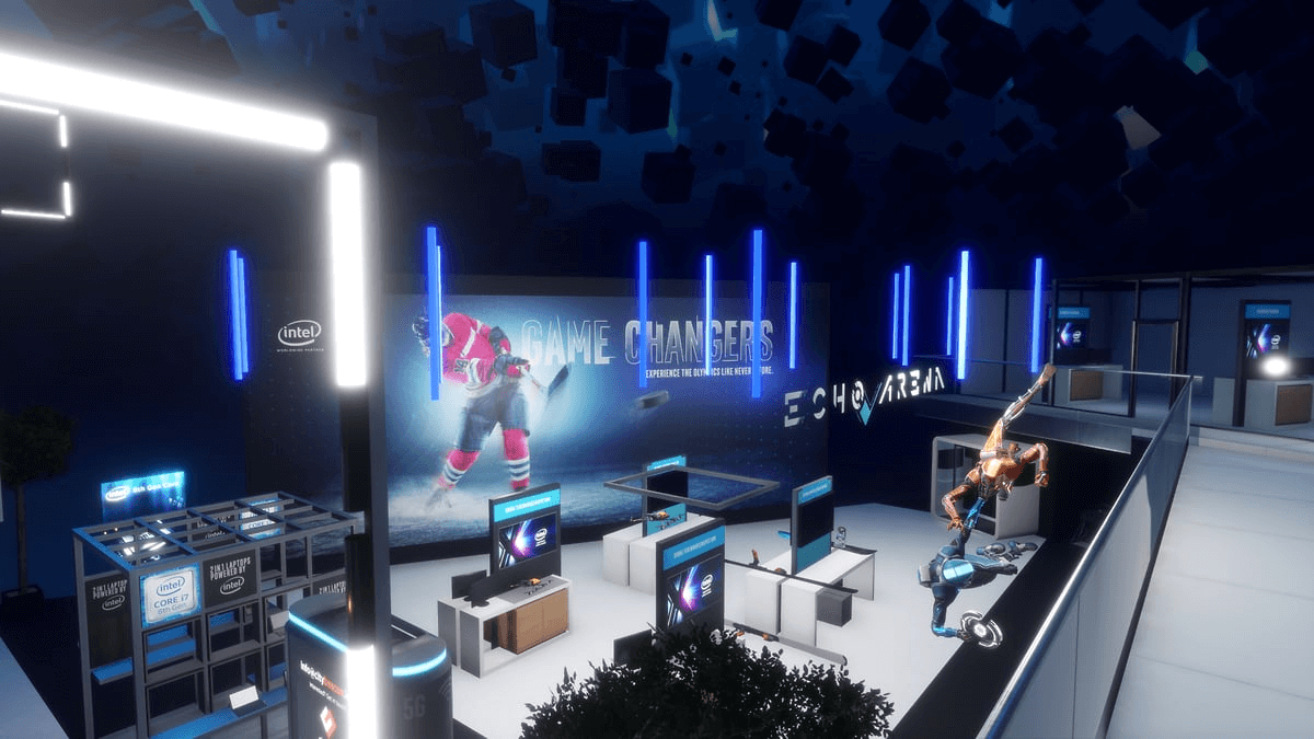 Join the VR experiences at CES with Intel & Sansar