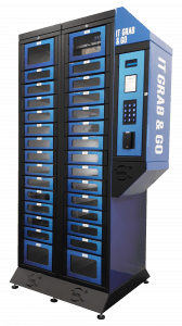 Intel's Smart Lockers help improve IT efficiency