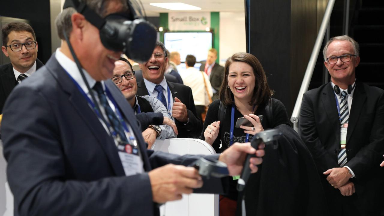 Learn about retail technology at NRF 2018.