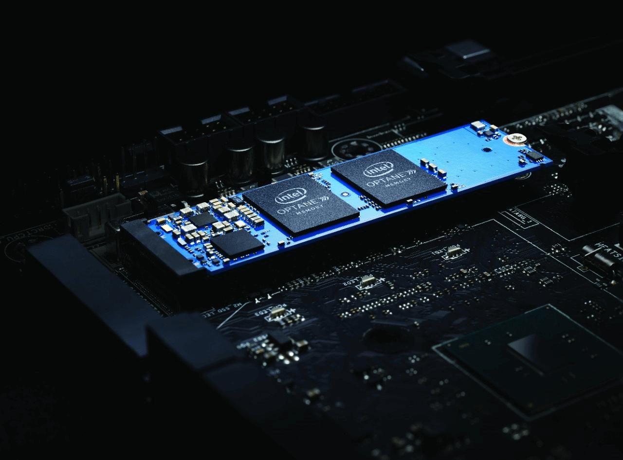 Intel Optane SSD Memory Motherboard