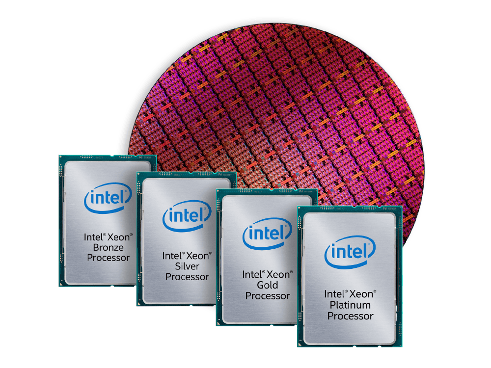 Achieve faster throughput with the Intel® Xeon® processor Scalable family.