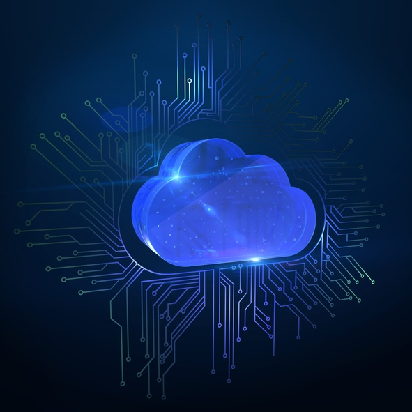 Digital transformation that lets IT deploy applications and share data using a hybrid cloud – an integrated combination of public clouds and private, on-premises systems.