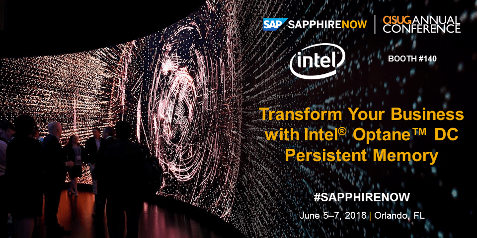 Intel at SAP SAPPHIRE 2018