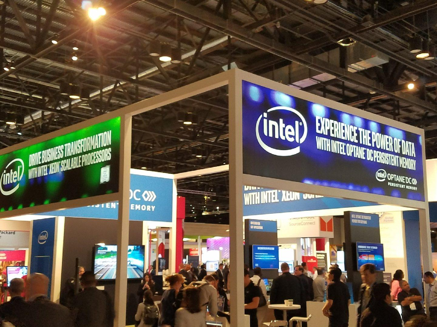 Intel Booth at SAP SAPPHIRE 2018