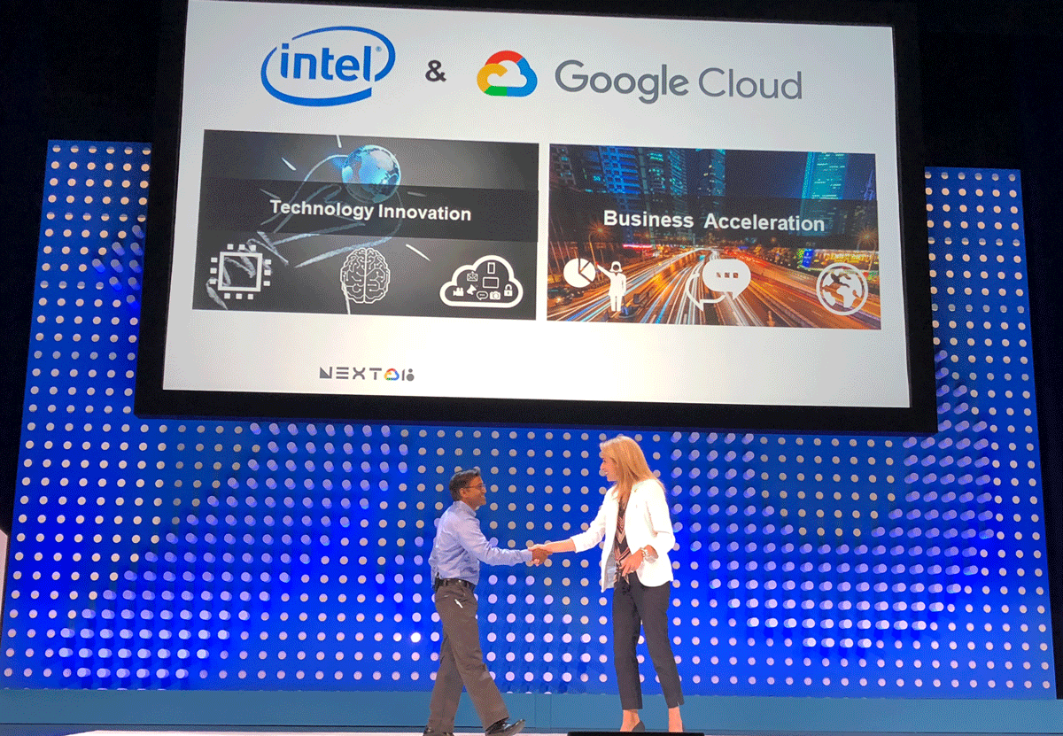 A partnership with Intel and SAP to offer future Google Cloud Platform (GCP) instances for SAP HANA supporting the upcoming Intel® Optane DC Persistent Memory.