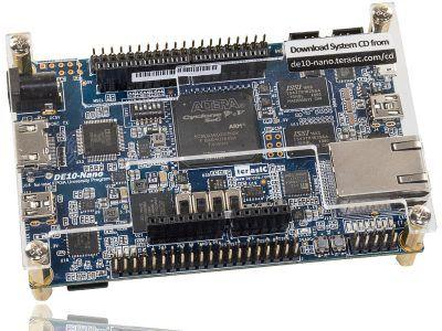 Cyclone® V SoC FPGA reference board