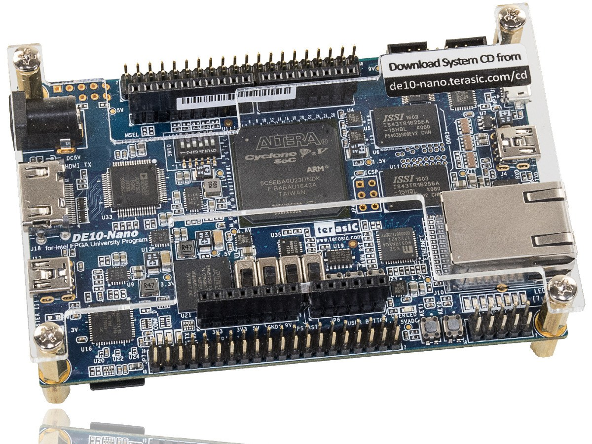 Cyclone® V SoC FPGA reference board