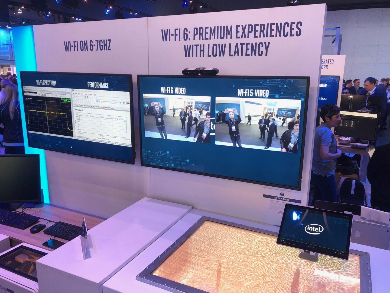 Intel WI-FI 6 event