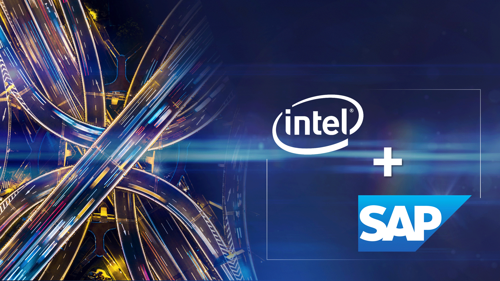 Intel SAP Partnership Announcement