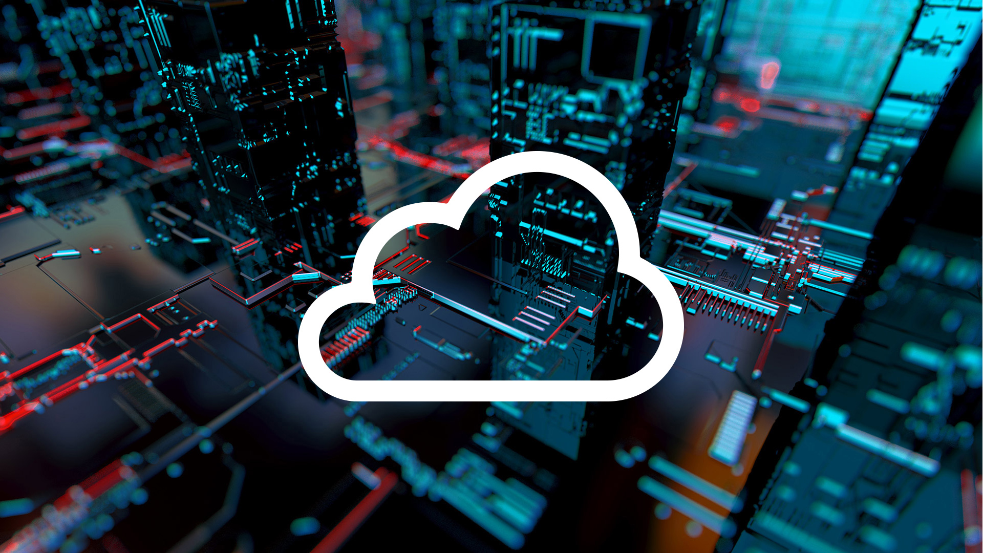 Cloud icon for AWS re:Invent 2020 announcement