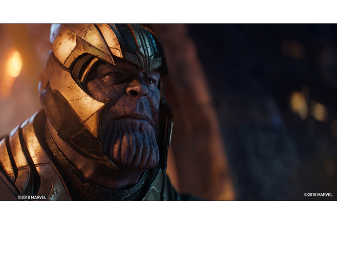 "Thanos from ""Avengers Infinity Wars."" Courtesy Marvel Studio"