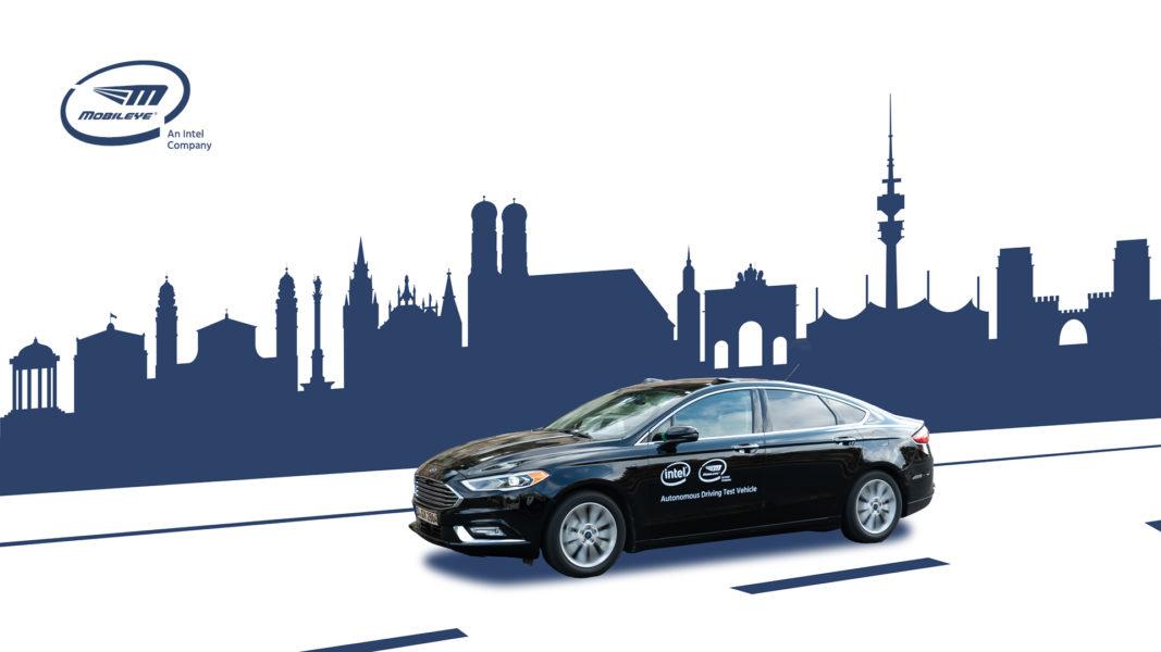Press Release AV Testing Germany – AV Test Vehicle in Munich