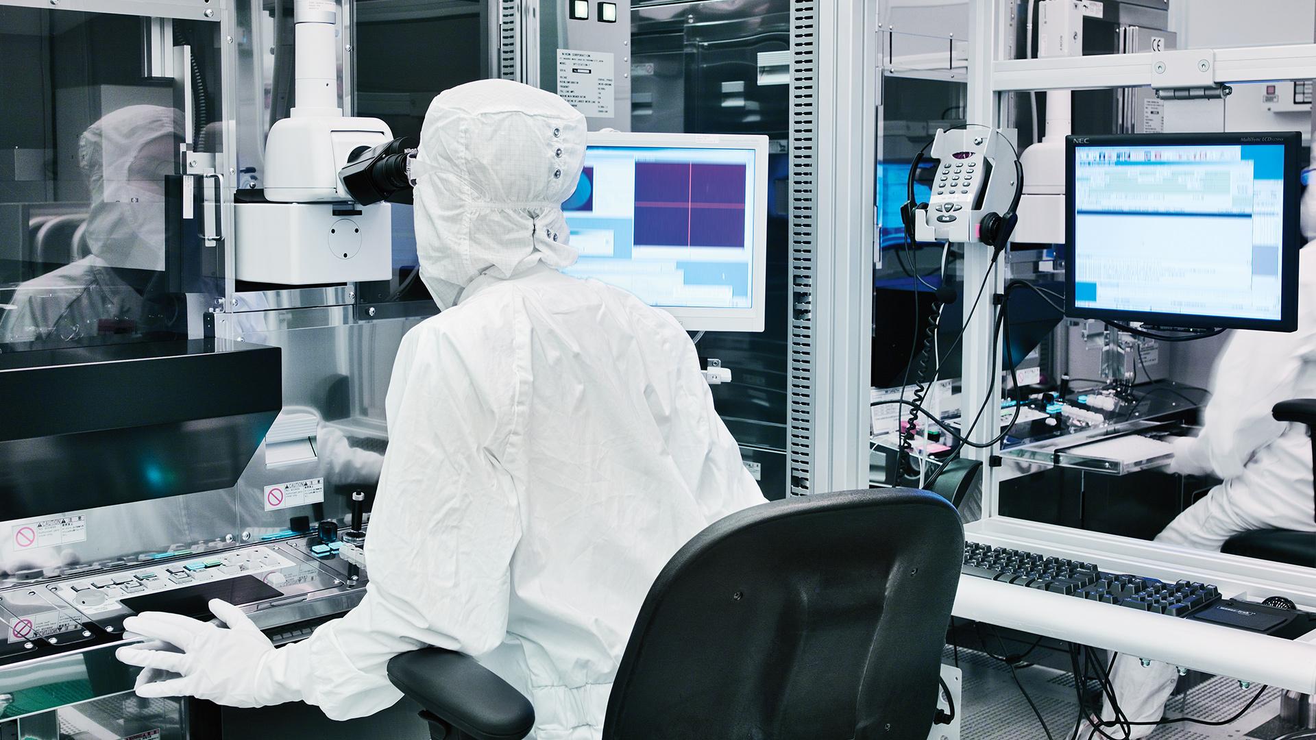 engineer-bunny-suit-working-microscope-rwd