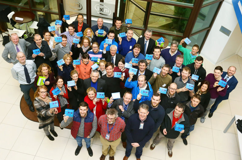 7/2/16***NO REPRO FEE*** pictured at a Coding exploration day at the Intel Ireland Campus in Leixlip for the first group of 50 teachers who will teach the subject at Junior Cycle level. Intel made a donation of 900 Galileo Gen 2 Boards and teacher kits to the 19 post-primary schools in this initiative who were chosen from over 120 entries from post-primary schools nationwide. Pic: Marc O'Sullivan