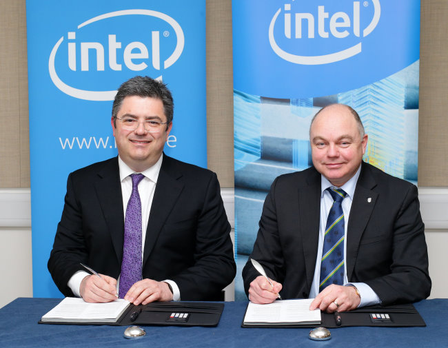 The new partnership between Intel and UCD will focus on the specific areas of Talent, Research and Policy