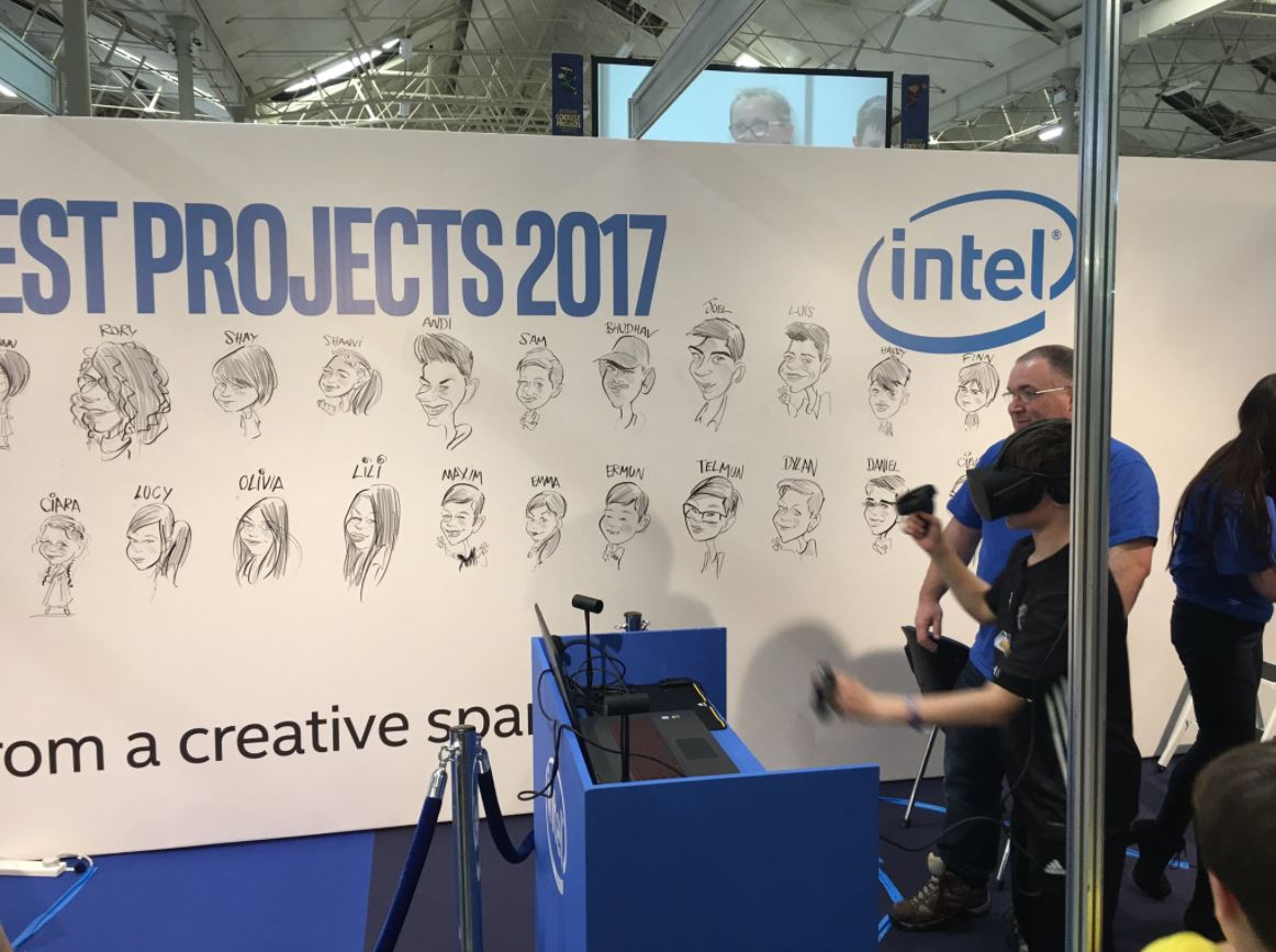 Intel stand 4