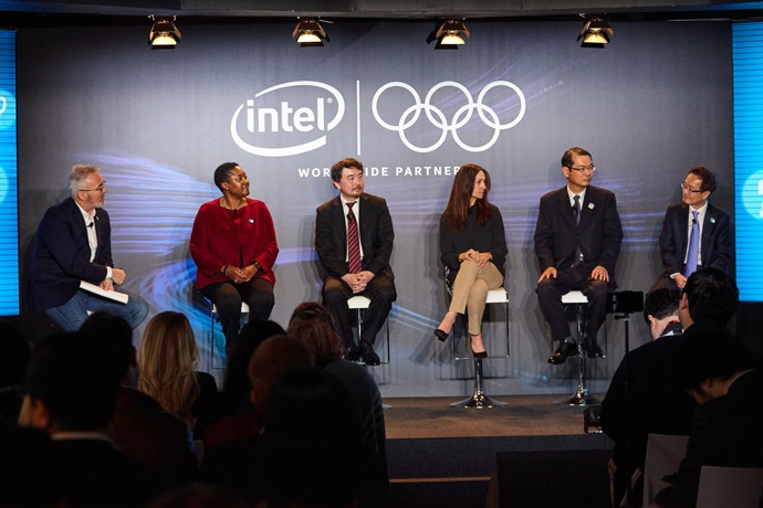 Together with the RHB, Intel streamed the Olympic Winter Games P