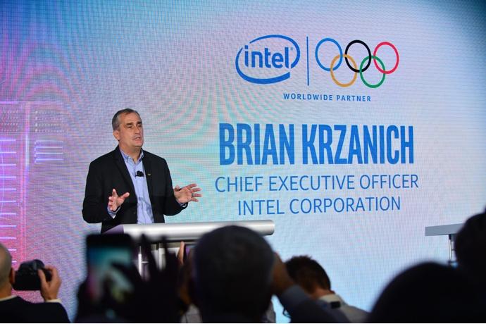 Intel CEO Brian Krzanich announces Intel is an Official Worldwid