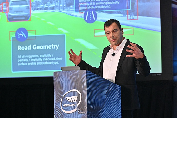 Professor Amnon Shashua, Mobileye CEO and Intel senior vice pres