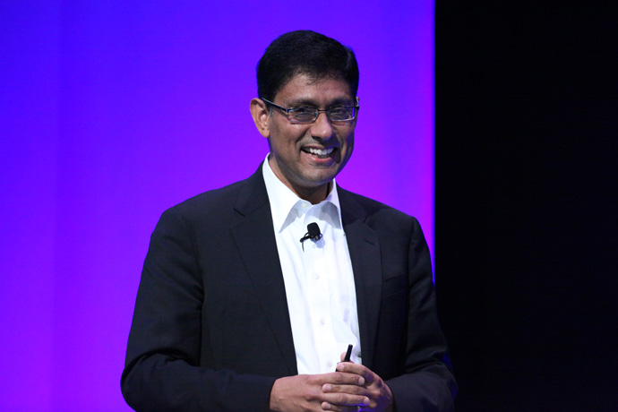 Schneider Electric's chief technology officer Prith Banerjee h