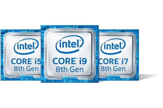 The new 8th Gen Intel Core i9, i7 and i5 processors for laptops