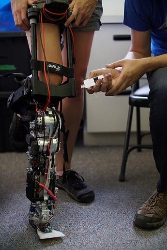 Loihi-prosthetic-leg